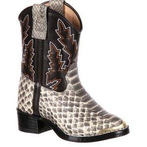 Durango kids boots (snake print)